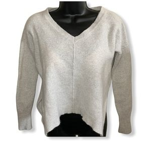 LINE  Crew Neck Cashmere Blended Soft Knit Sweater